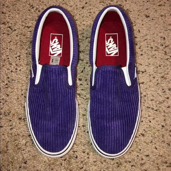 Vans Shoes | Womens Corduroy Vans Slip